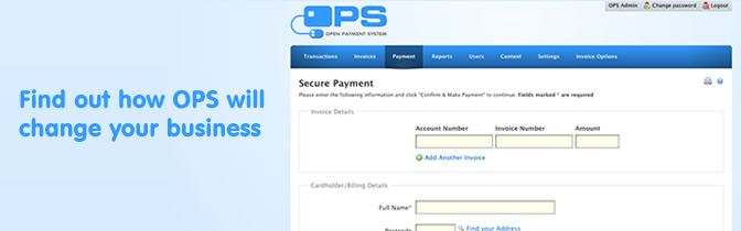 Open Payment Systems Business Solutions